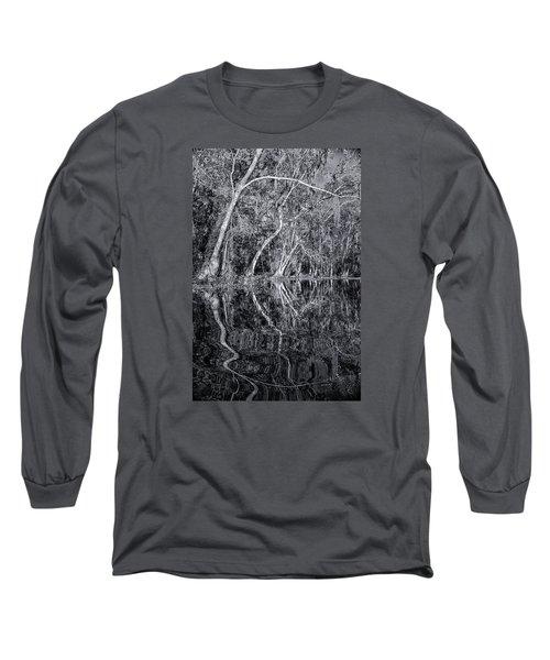 Liquid Silver Long Sleeve T-Shirt