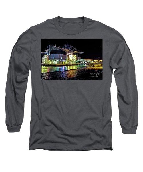 Lisbon - Portugal - Oceanarium At Night Long Sleeve T-Shirt