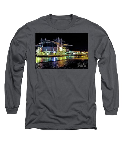 Lisbon - Portugal - Oceanarium At Night Long Sleeve T-Shirt