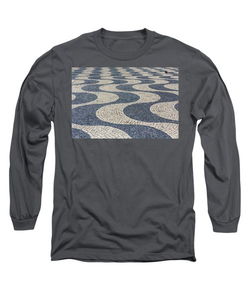 Long Sleeve T-Shirt featuring the photograph Lisbon Street by Patricia Schaefer