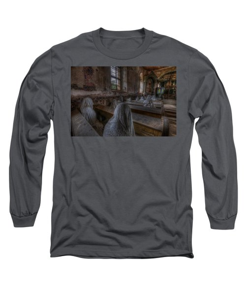 Listen  Long Sleeve T-Shirt by Nathan Wright