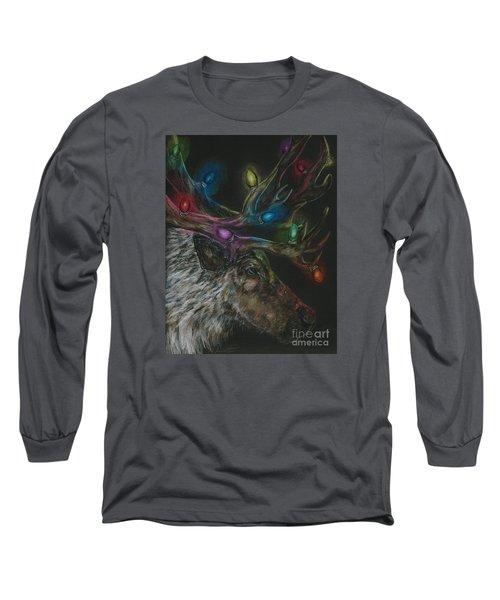 Lit Up Long Sleeve T-Shirt by Meagan  Visser