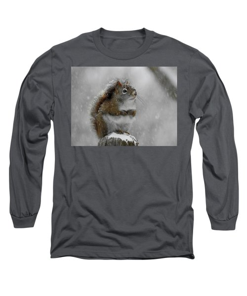 Little Begger Long Sleeve T-Shirt by Betty-Anne McDonald