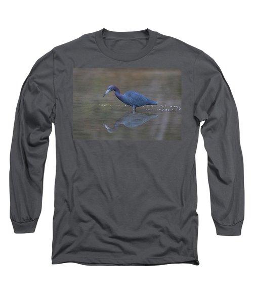 Little Blue Bubbles Long Sleeve T-Shirt