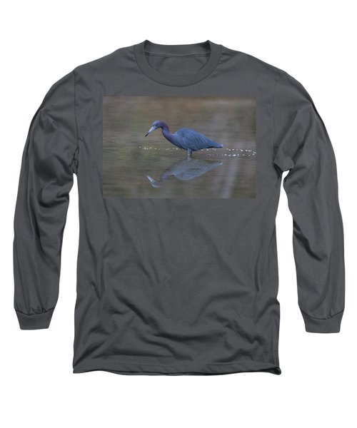 Little Blue Bubbles Long Sleeve T-Shirt