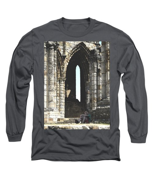 Little Boy Under The Arch Long Sleeve T-Shirt