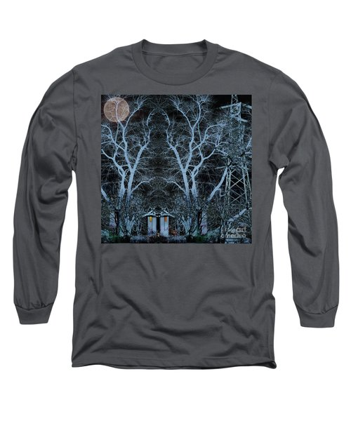 Little House In The Woods Long Sleeve T-Shirt