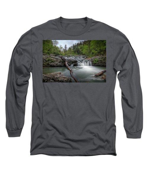 Little Missouri Falls 3 Long Sleeve T-Shirt