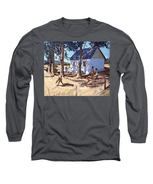 Little White House Karoo South Africa Long Sleeve T-Shirt by Andrew Macara