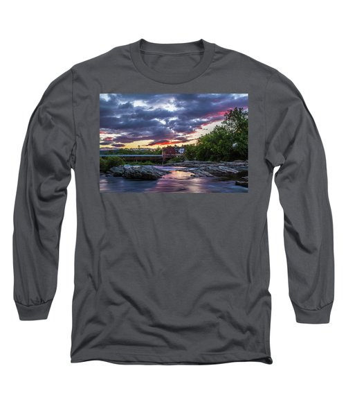 Littleton Sunset On The Rocks Long Sleeve T-Shirt