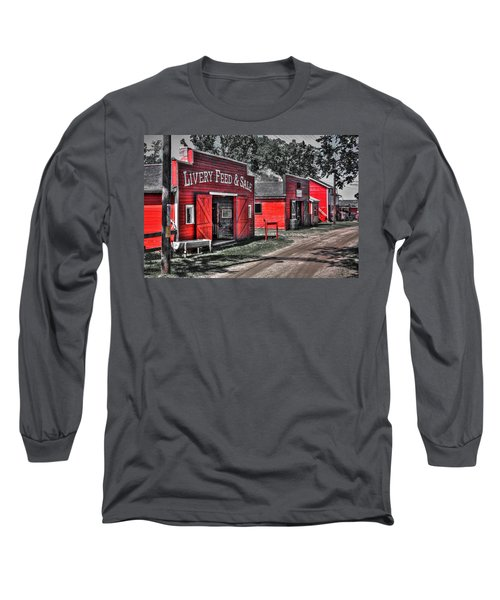 Livery Feed Long Sleeve T-Shirt