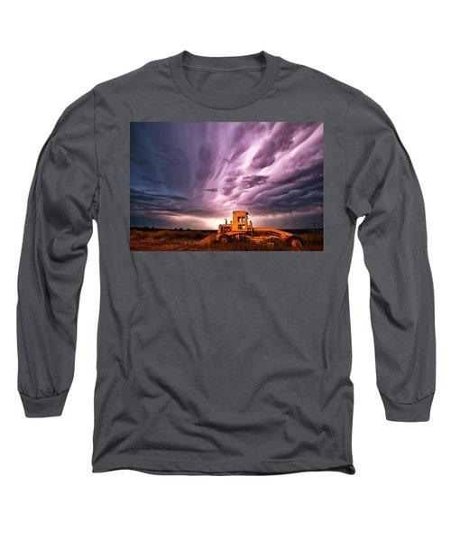 Living Sky In Nebraska Long Sleeve T-Shirt