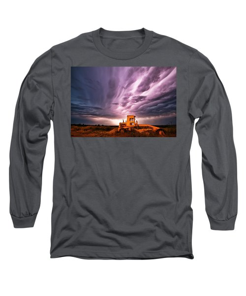 Living Sky In Nebraska Long Sleeve T-Shirt
