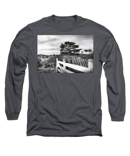 Living The Good Life Black And White Version Long Sleeve T-Shirt by Kandy Hurley