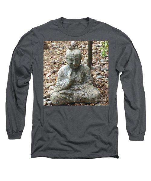 Lizard Zen Long Sleeve T-Shirt by Kim Nelson