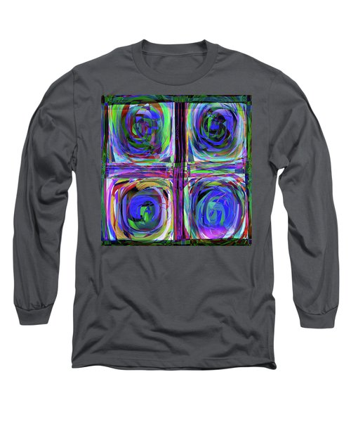 lLetter to Kandisky Long Sleeve T-Shirt by Danica Radman