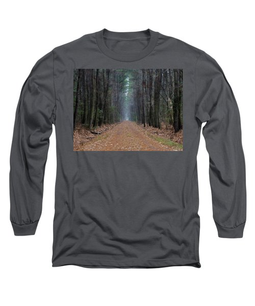Long Sleeve T-Shirt featuring the photograph Loblolly Lane by Robert Geary