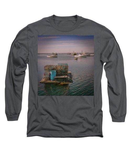 Lobstar Pot Float Long Sleeve T-Shirt