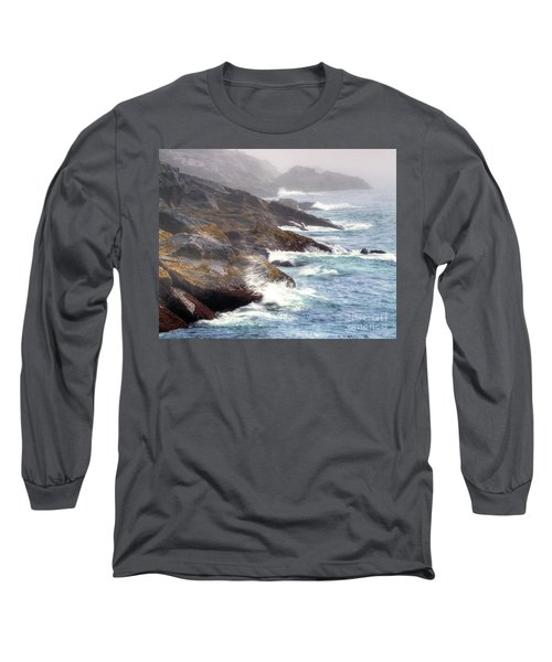 Long Sleeve T-Shirt featuring the photograph Lobster Cove by Tom Cameron