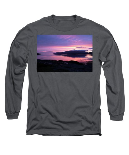 Loch Scridain Sunset Long Sleeve T-Shirt