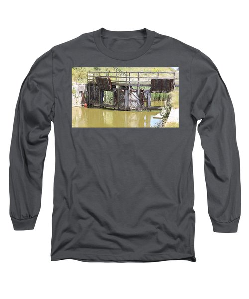 Lock Long Sleeve T-Shirt by Keith Sutton