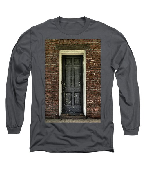 Long Sleeve T-Shirt featuring the photograph Locked Forever by Zawhaus Photography
