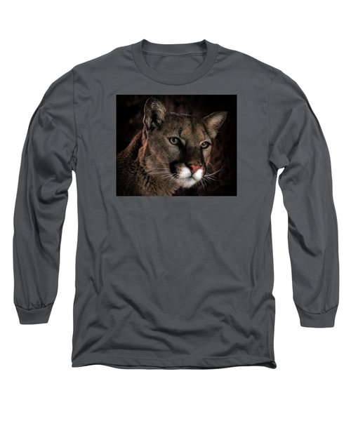 Long Sleeve T-Shirt featuring the photograph Locked Onto Prey by Elaine Malott