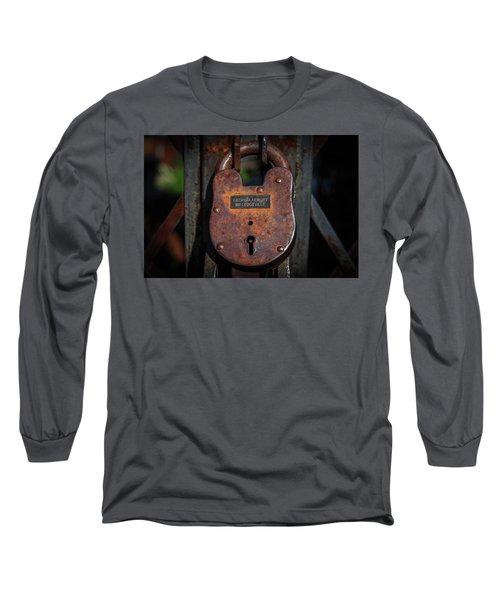 Locked Up Tight Long Sleeve T-Shirt