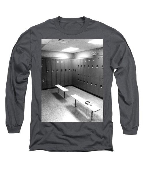 Locker Room Long Sleeve T-Shirt by WaLdEmAr BoRrErO