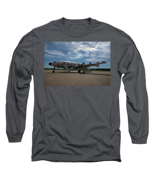 Lockheed Constellation Super G Long Sleeve T-Shirt