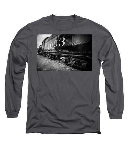 Locomotive Engine Long Sleeve T-Shirt