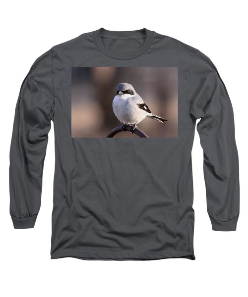Loggerhead Shrike - Smokey Long Sleeve T-Shirt