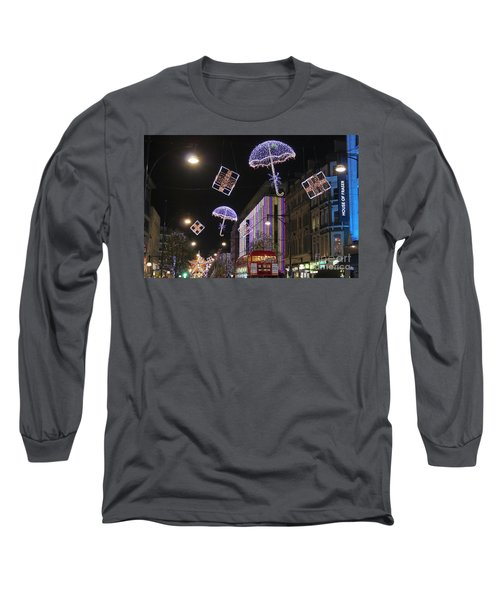London At Christmas Long Sleeve T-Shirt