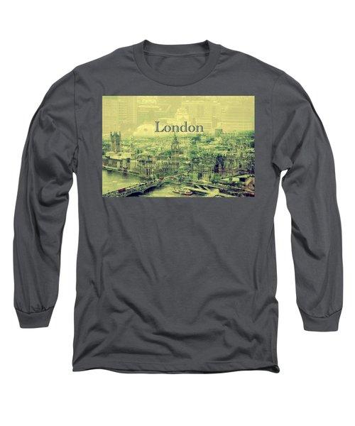 London Calling You Back Long Sleeve T-Shirt by Karen McKenzie McAdoo