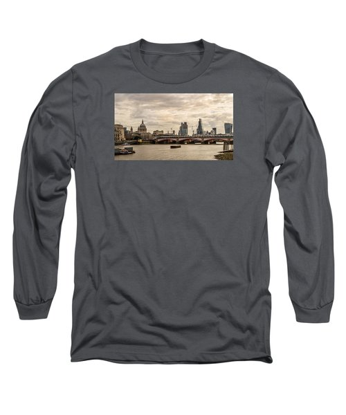 London Cityscape Long Sleeve T-Shirt