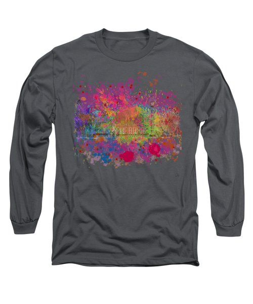 London Colour Long Sleeve T-Shirt by Dave H