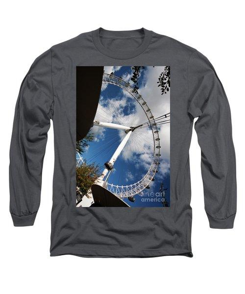 London Ferris Wheel Long Sleeve T-Shirt