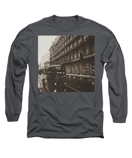 London Rain Long Sleeve T-Shirt