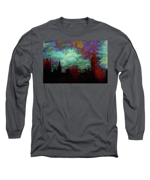 London Skyline II Long Sleeve T-Shirt