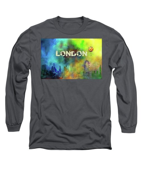 London - Skyline Long Sleeve T-Shirt