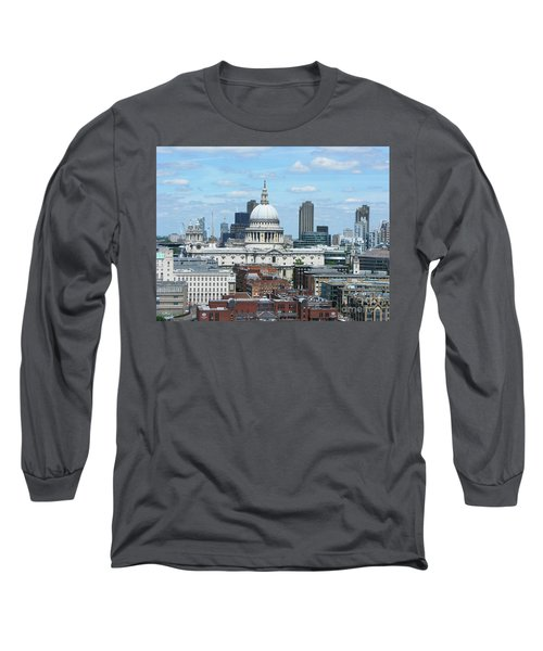 London Skyscrape - St. Paul's Long Sleeve T-Shirt