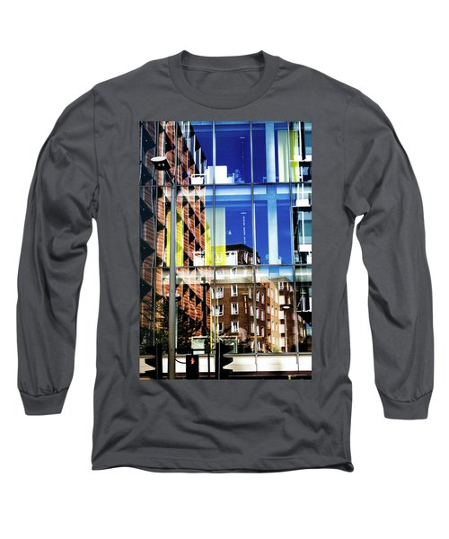 London Southwark Architecture 2 Long Sleeve T-Shirt by Judi Saunders