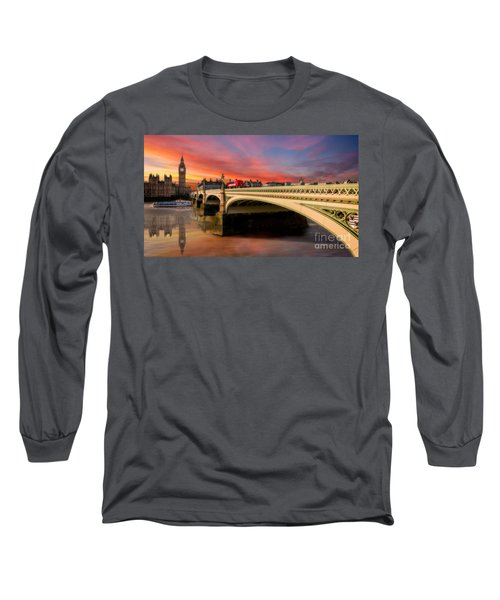 London Sunset Long Sleeve T-Shirt