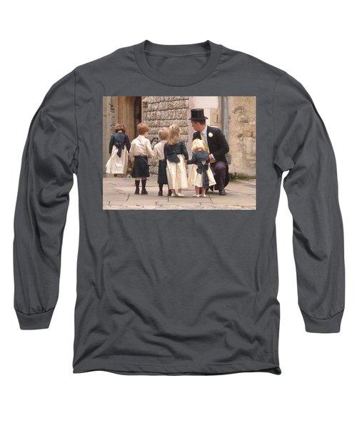 London Tower Wedding Long Sleeve T-Shirt