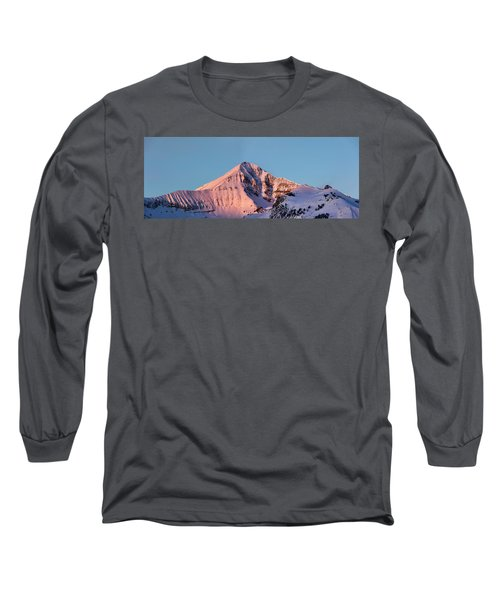Lone Mountain Alpenglow Panoroama Long Sleeve T-Shirt