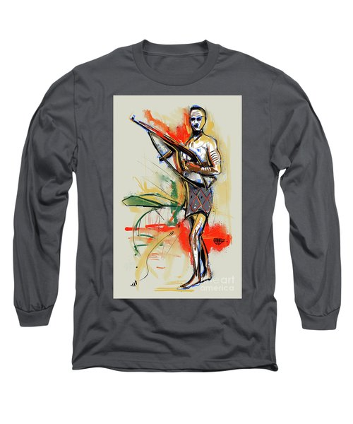Lone Native Soldier Long Sleeve T-Shirt