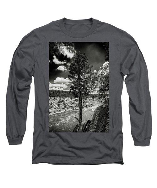 Lone Tree Long Sleeve T-Shirt by Paul Seymour
