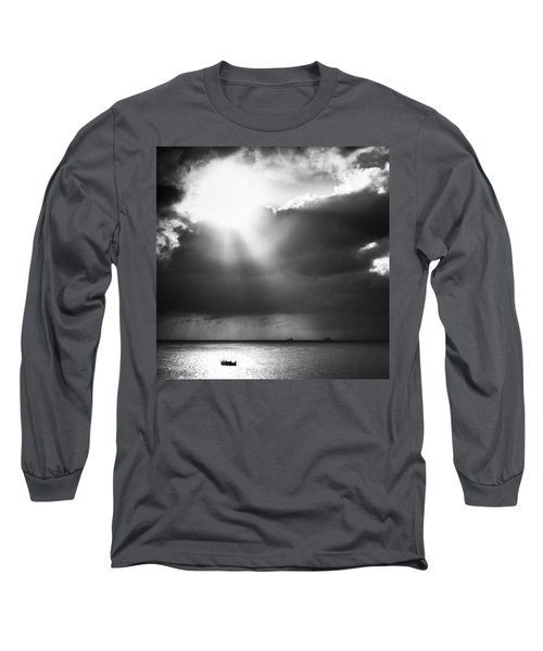 Lonely At Sea Long Sleeve T-Shirt