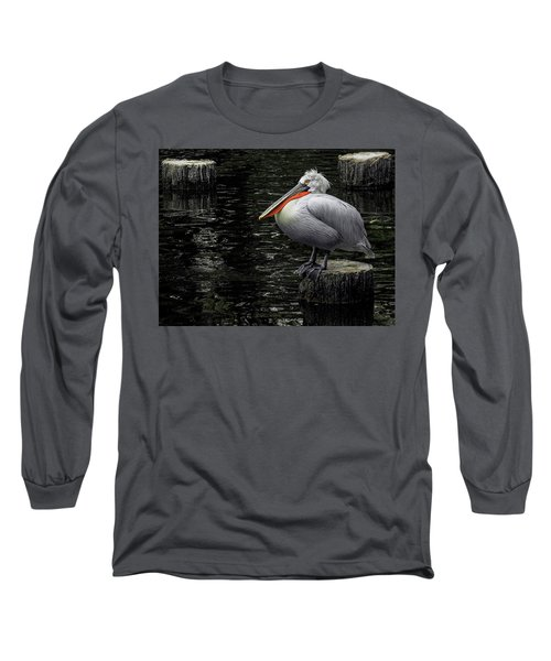Lonely Pelican Long Sleeve T-Shirt