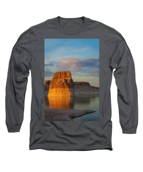 Lonely Rock Long Sleeve T-Shirt by David Cote